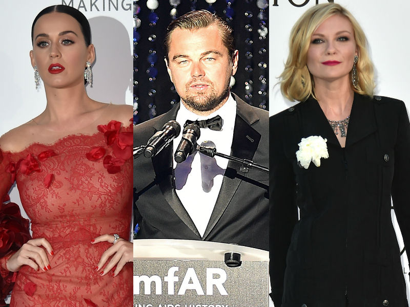 amfAR Gala 2016: Leo, Katy, Kirsten at Their Stylish Best