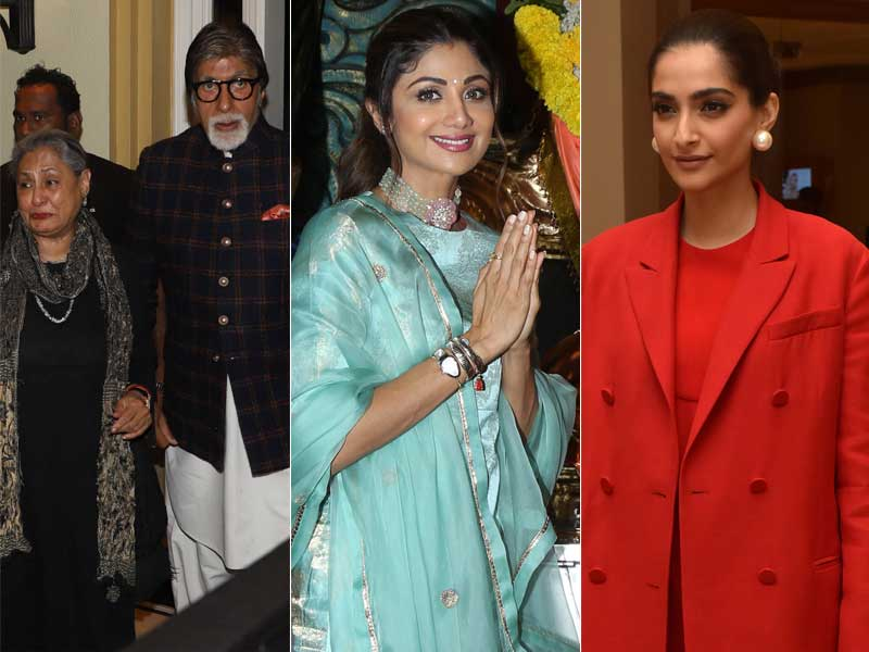 Inside Amitabh-Jaya Bachchan, Shilpa Shetty And Sonam Kapoor's Busy Weekend