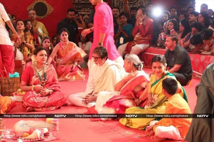 Sibling Goals: Kajol, Rani and Ayan Mukerji snapped celebrating Durga Ashtami