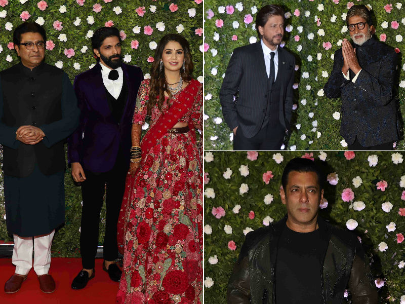 Inside Raj Thackeray's Son's Reception With The Khans, Amitabh Bachchan And Other Celebs