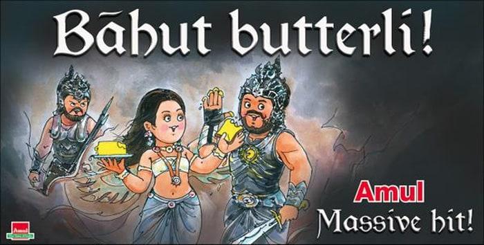 Amul Raises a Toast to Baahubali
