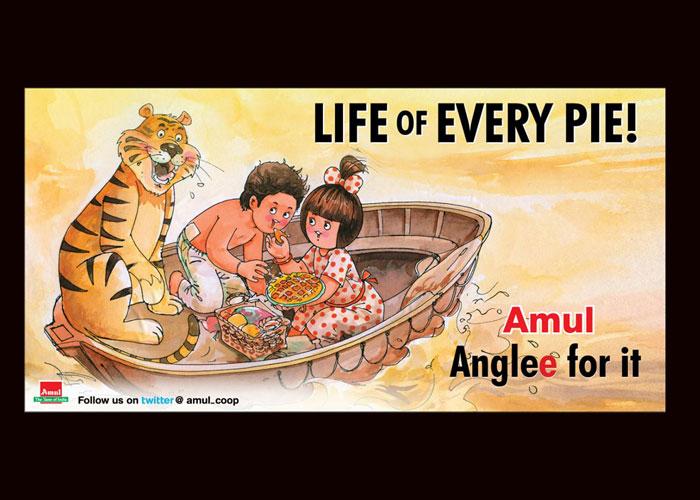 Amul toasts Life of Pi