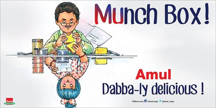 Amul\'s 'Dabba-ly delicious\' Lunchbox