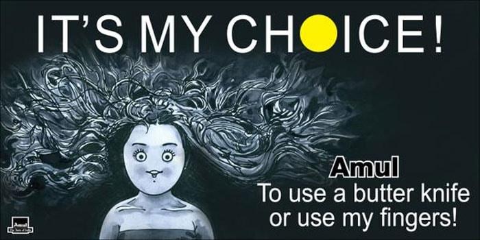 Amul\'s Utterly Butterly Take on Deepika\'s \'My Choice\' Video