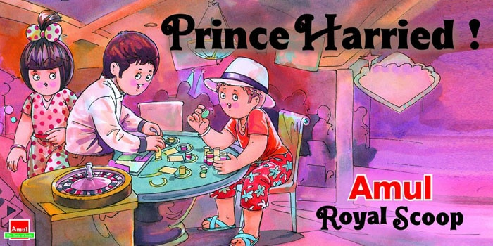 Amul\'s \'poker-faced\' Prince Harry