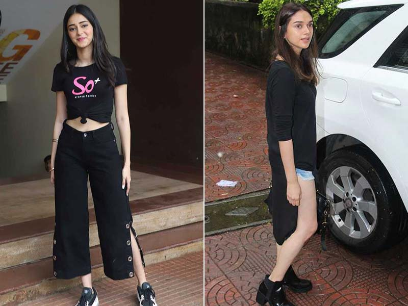 Ananya Panday And Aditi Rao Hydari's Day Out