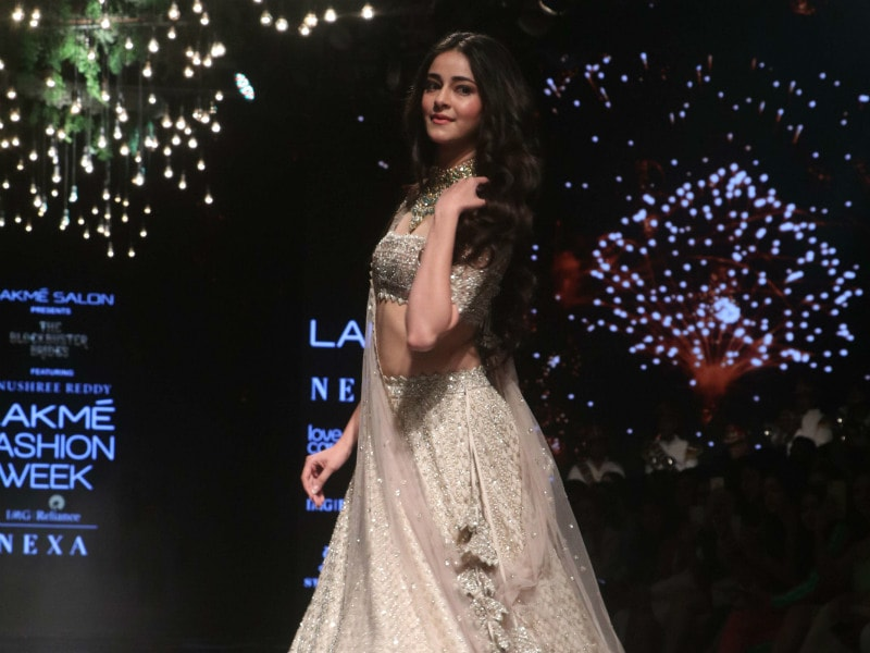 Ananya Panday Makes Runway Debut, Twirls Her Way To Our Hearts