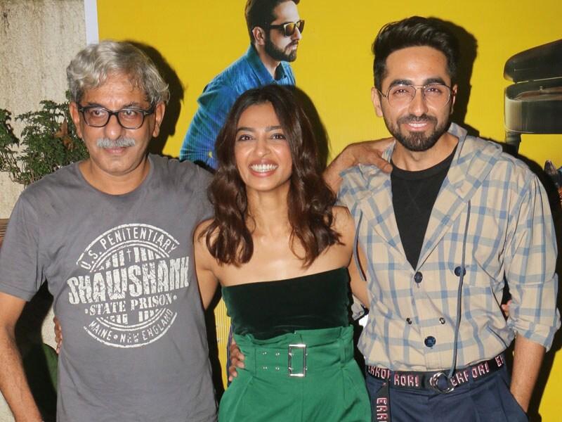 Ayushmann And Radhika Apte Watch AndhaDhun Minus Tabu