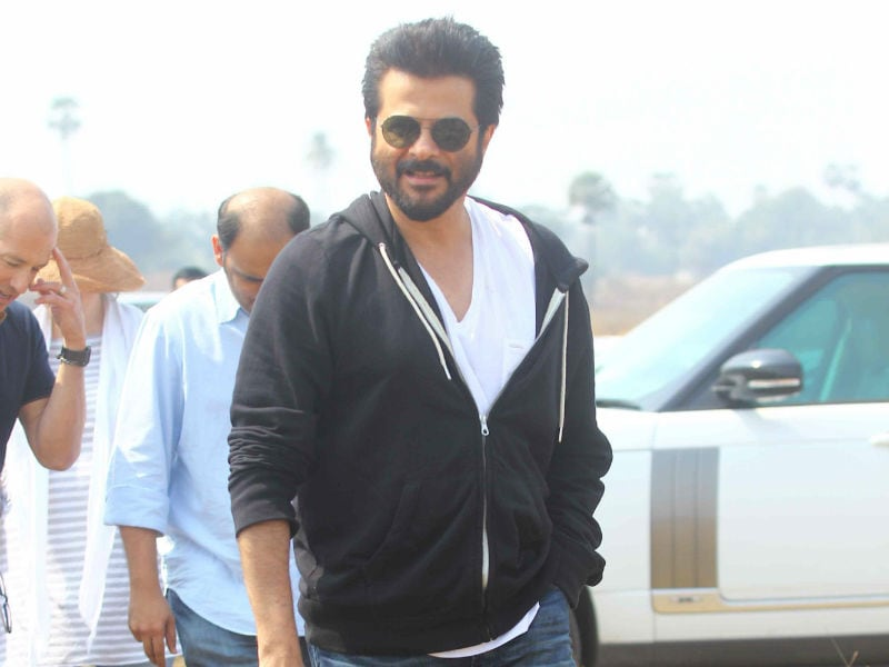 Absolutely Jhakkaas: Anil Kapoor on the Sets of 24