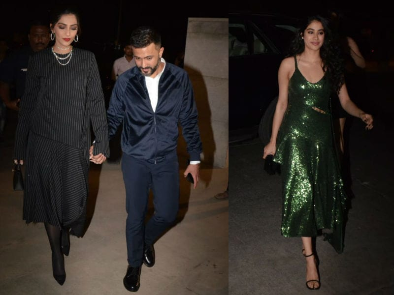 Anil Kapoor's Jhakaas Birthday Party With Sonam-Anand, Janhvi, Arjun, Malaika