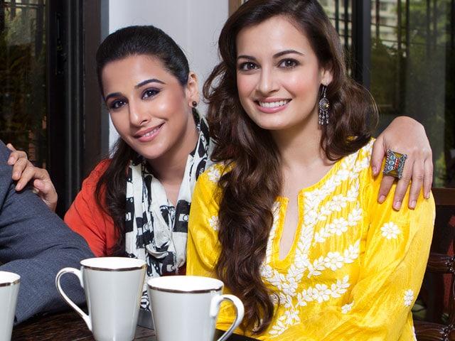 Friends over coffee: Vidya, Dia