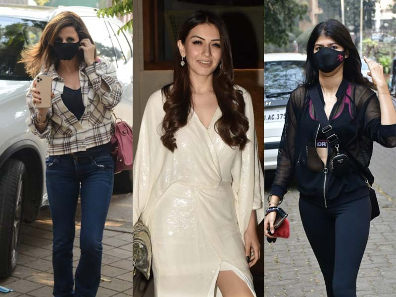Photo : Catching Up With Anjini Dhawan, Hansika Motwane And Sussanne Khan