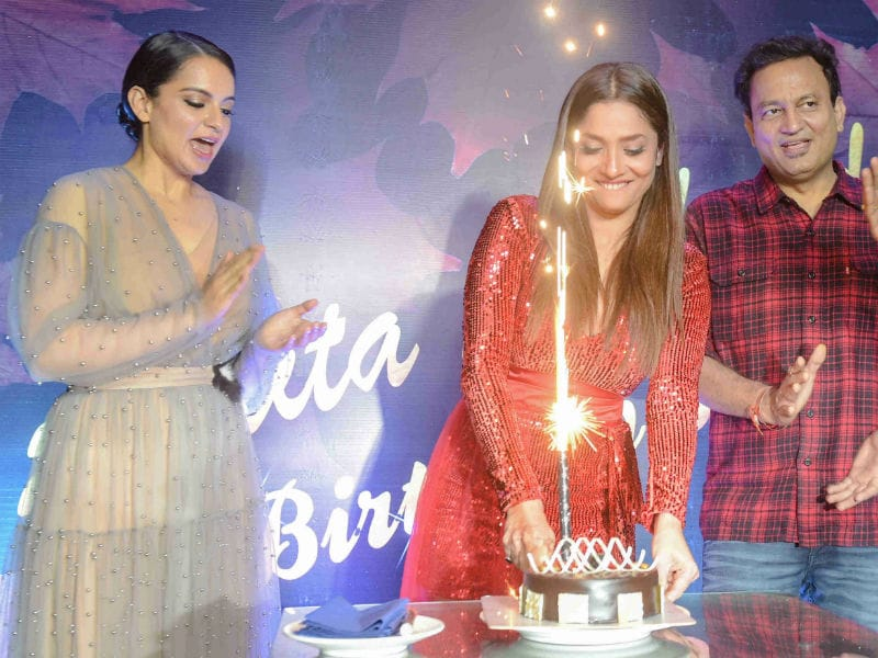 Inside Ankita Lokhande's Birthday Bash With Kangana Ranaut, Mouni Roy