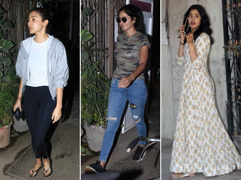 Anushka, Katrina And Janhvi's Mid-Week Diaries