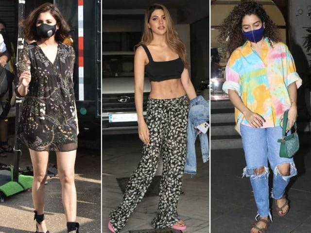 Photo : Anushka, Sanya And Nikki's Fashion Diaries
