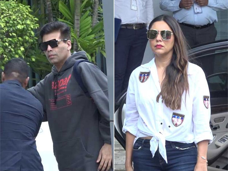 Gauri, Karan Johar Fly To Delhi To Meet Shweta Bachchan Nanda