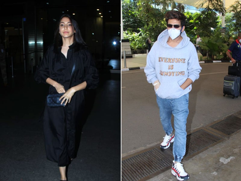 Sky Full Of Stars: Anushka Sharma And Kartik Aaryan Take The Flight
