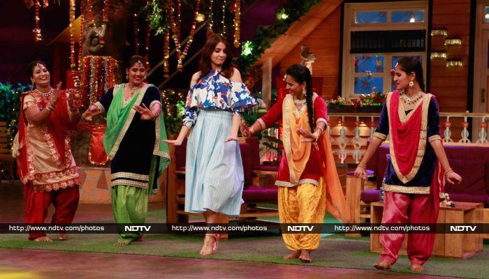 <i>फिल्लौरी</i> की शशि अनुष्का शर्मा ने कपिल शर्मा के शो पर जमाया लाफ्टर का रंग