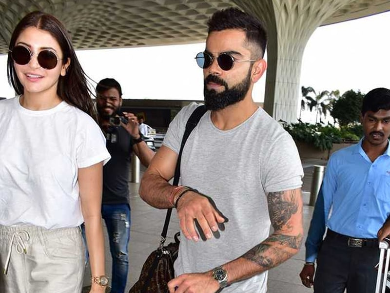Anushka Sharma And Virat Kohli's Airport Diaries