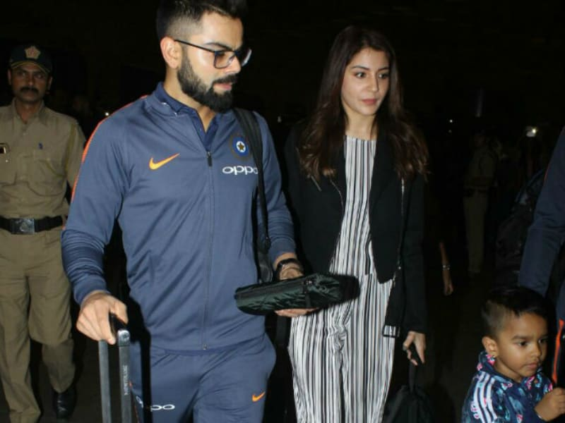 Bye Bye, Anushka And Virat. See You In South Africa