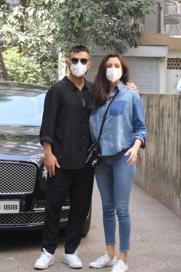 New Parents Anushka Sharma And Virat Kohli Spotted After Birth Of Baby