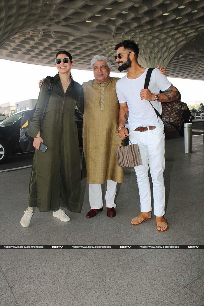 Anushka Sharma And Virat Kohli: Destination Goa