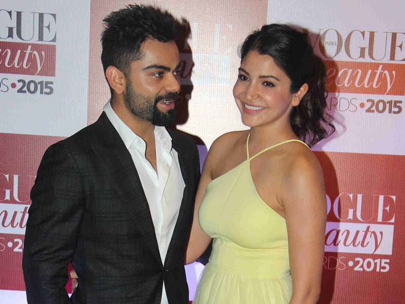 Anushka, Virat Lead Celeb Roll Call at Vogue Beauty Awards