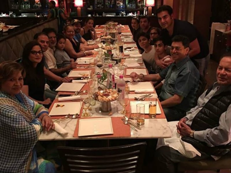 Inside Malaika And Arbaaz's Son Arhaan's Birthday