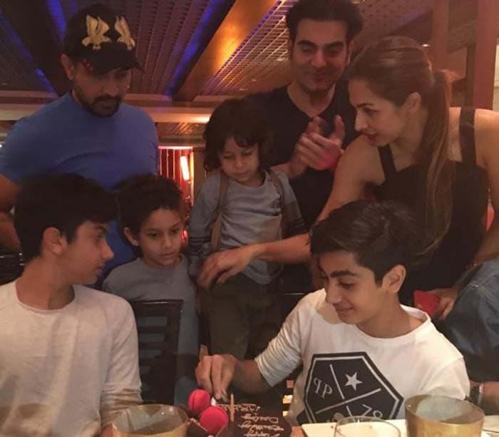 Inside Malaika And Arbaaz\'s Son Arhaan\'s Birthday