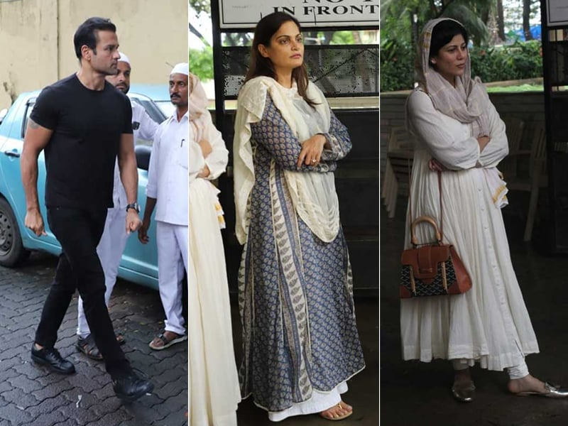 Areef Patel's Funeral: Rohit Roy, Alvira Khan Agnihotri And Wardha Nadiadwala Bid Their Final Goodbyes