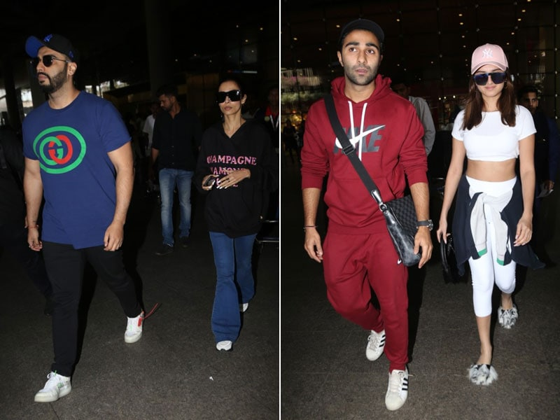 Arjun-Malaika, Tara-Aadar Are Back In The Bay