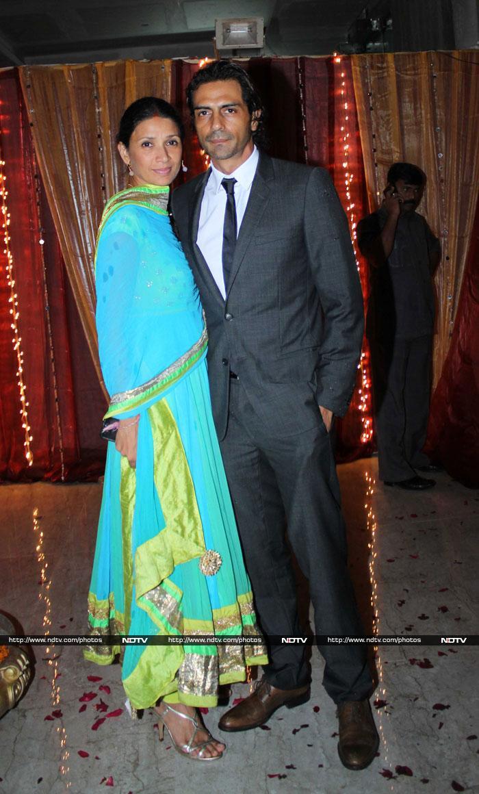 Arjun & Mehr at Thackeray engagement