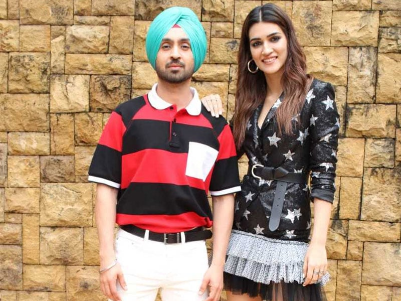 Arjun Patiala Promotions Keep Diljit And Kriti Busy