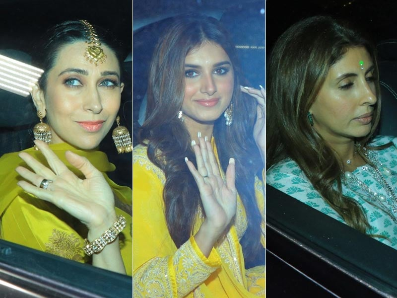 Karisma, Tara And Shweta Bachchan Nanda Lit Up Armaan Jain's Pre-Wedding Festivities