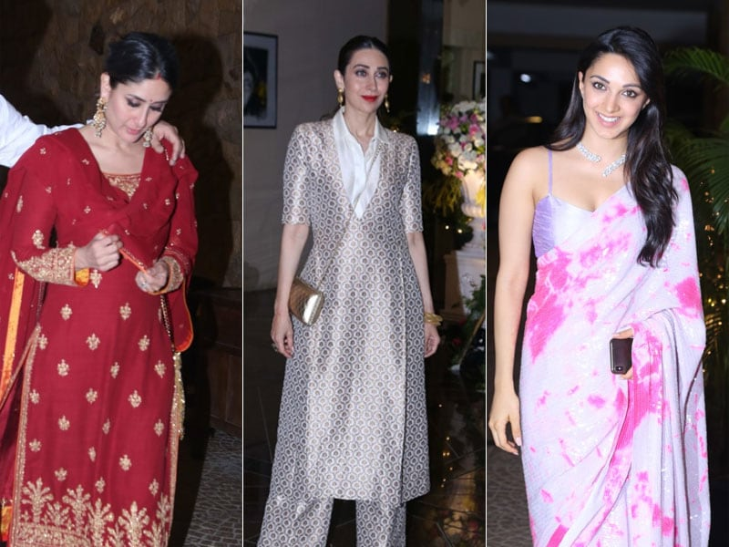 Kareena, Karisma Kapoor And Kiara Advani Attend Armaan Jain's Roka