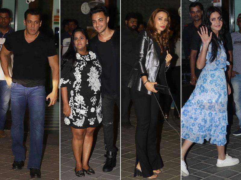 Katrina, Jacqueline, Salman, Iulia Join Arpita And Aayush's Anniversary Party