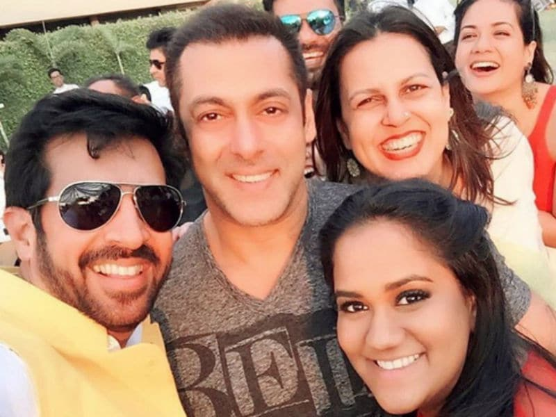 Arpita Khan Sharma's Blockbuster Baby Shower With Salman, Shilpa