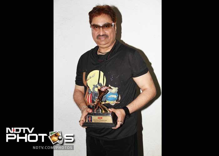 Rakhi Sawant, Asha Parekh, at Ambedkar Awards