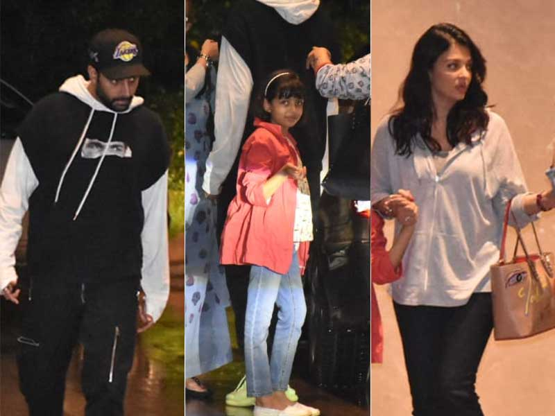 Aaradhya Goes On Dinner Date With Abhishek And Aishwarya