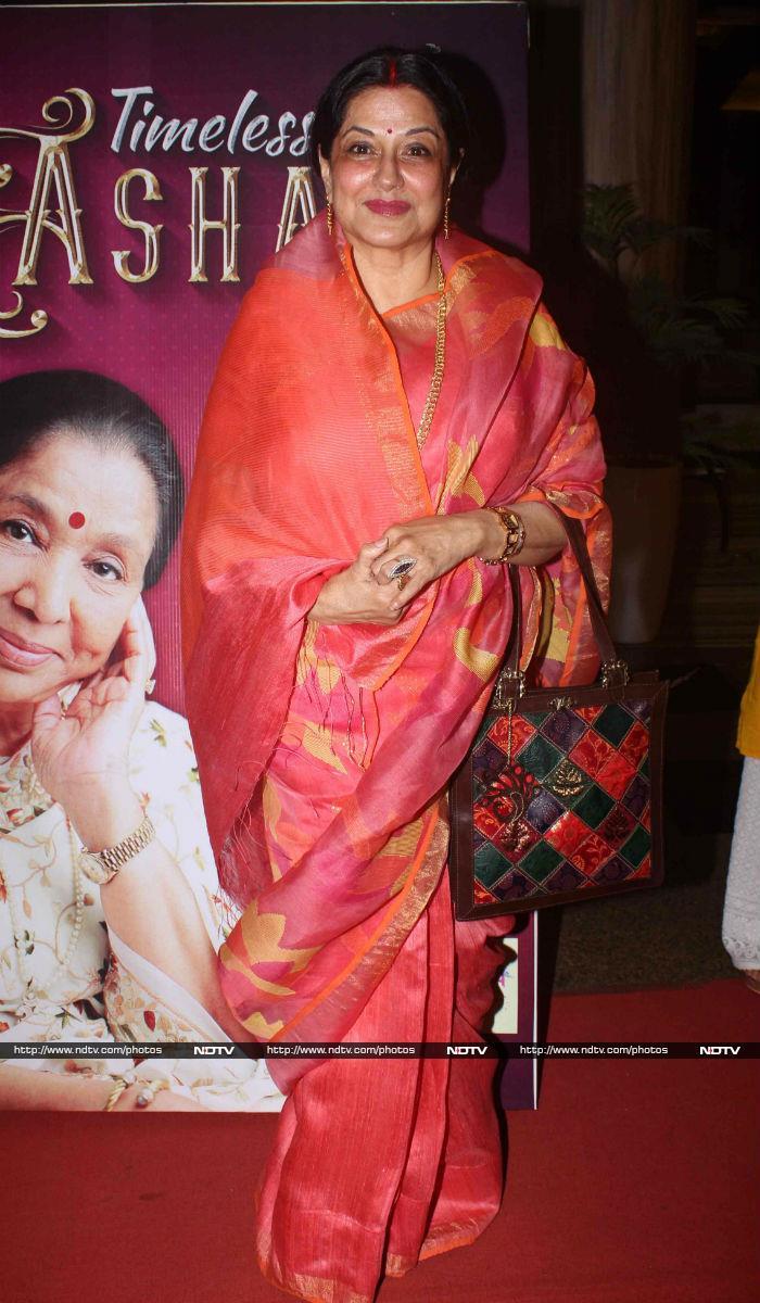 Asha Bhonsle Celebrates 83rd Birthday With Tabu