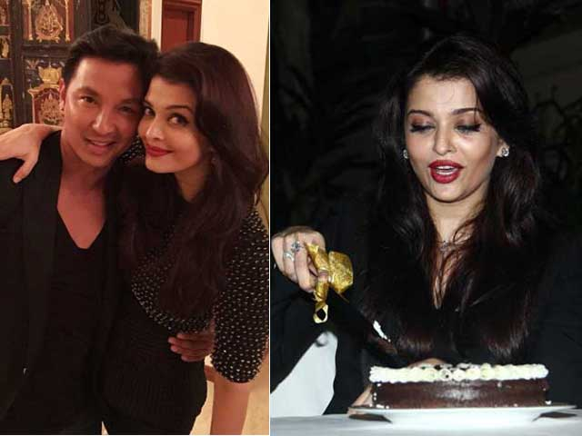 Inside Aishwarya's 41st Birthday Party