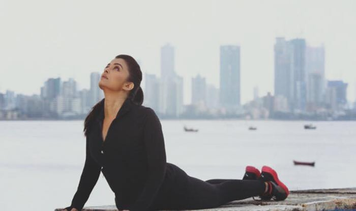 Aishwarya and Her Fitness Mantra in New Jazbaa Song