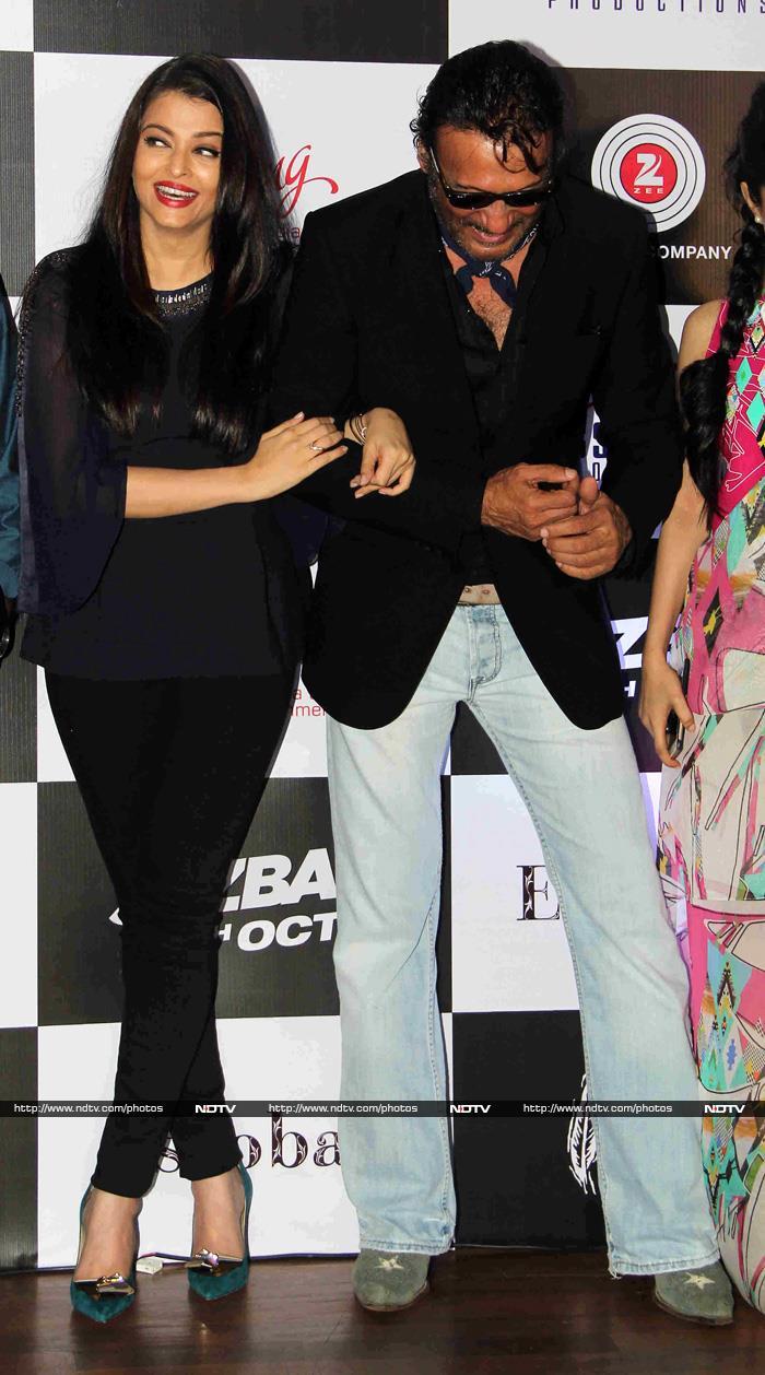 फिल्म 'जज्बा' के सॉन्ग 'बंदेया...' के लॉन्च पर ऐश्वर्या