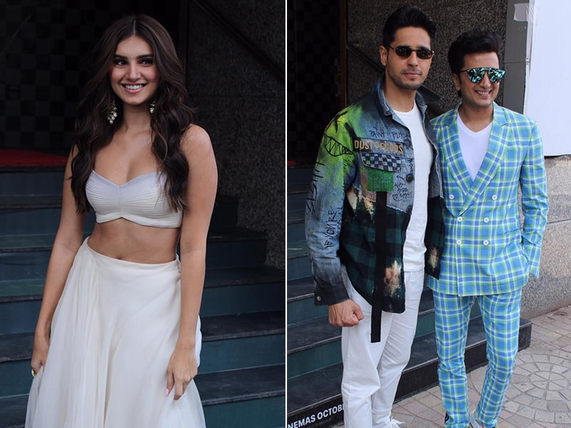 Tara Sutaria, Sidharth Malhotra And Riteish Deshmukh Brightened Up Mumbai