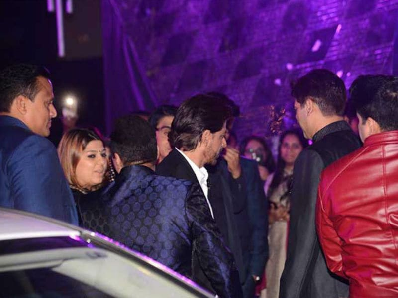 Shah Rukh Khan, Bobby Deol, Raveena Tandon Add Stardust To Azhar Morani's Sangeet Ceremony
