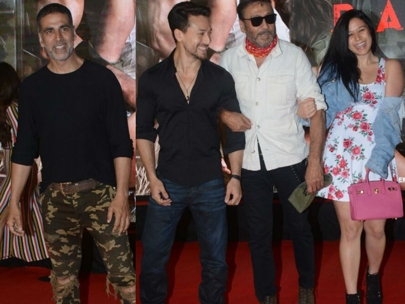 Akshay Watched Baaghi 2 With Tiger, Jackie And Krishna Shroff