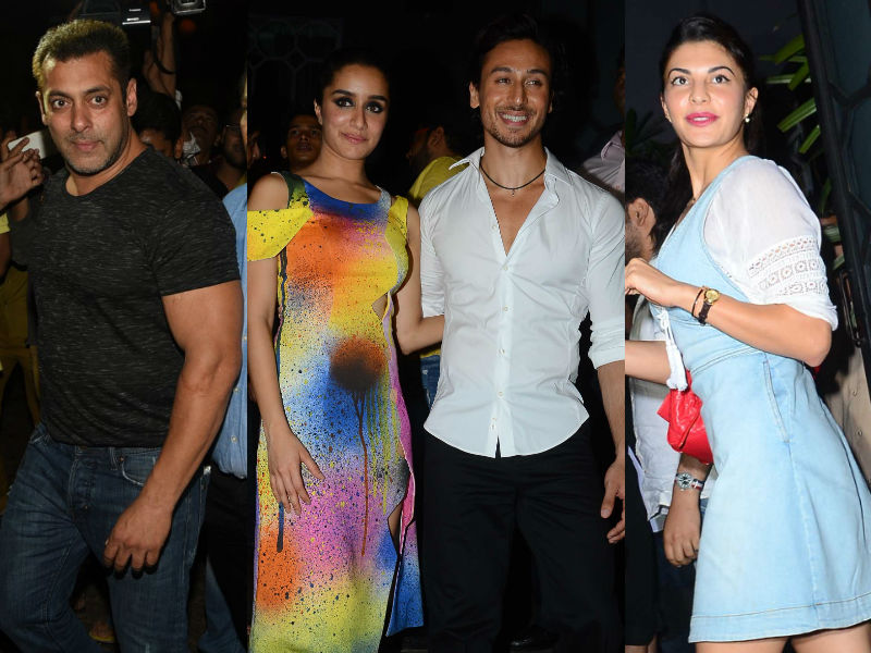 Shraddha-Tiger's Superhit Party For Baaghi Stars Salman, Jacqueline