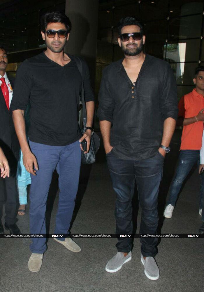 Baahubali 2: Prabhas, Rana Daggubati Bring S S Rajamouli\'s Film To Mumbai