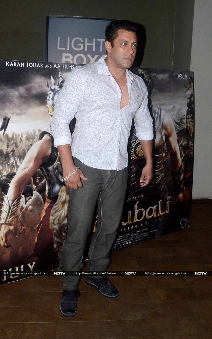 Salman\'s Sunday Date With Baahubali