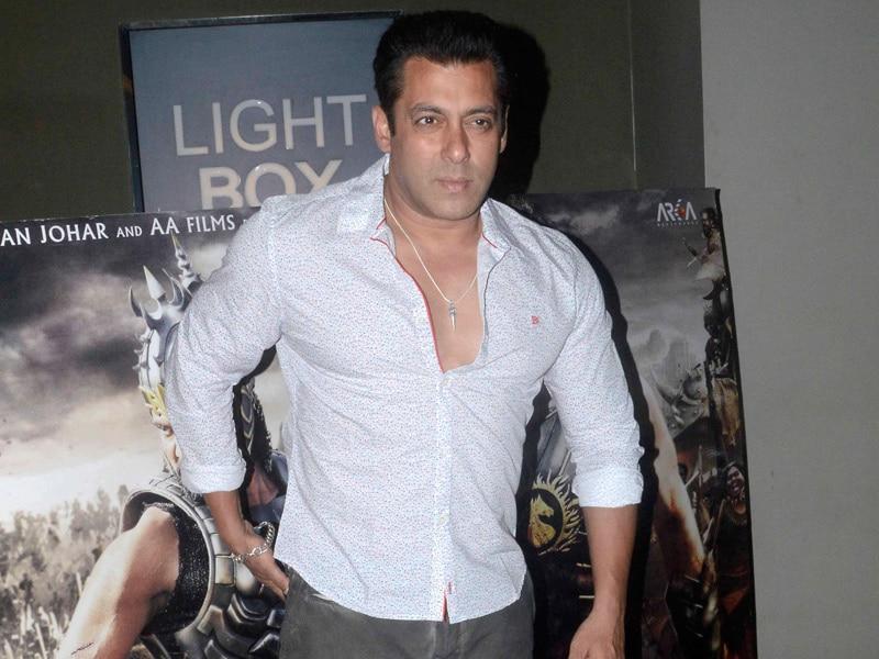Photo : Salman's Sunday Date With Baahubali
